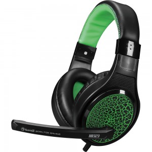 Casti Gaming H8323 Green