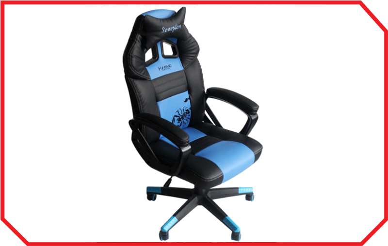 Scaun Gaming CH-105 BLUE Marvo