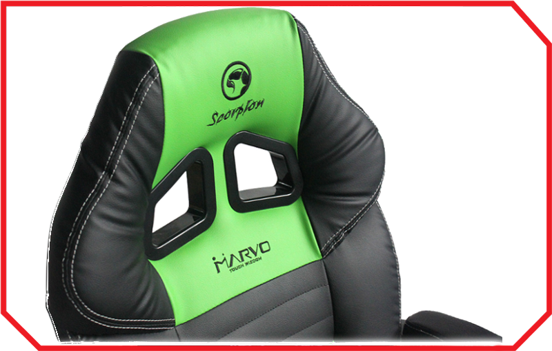 Scaun Gaming CH-105 GREEN Marvo