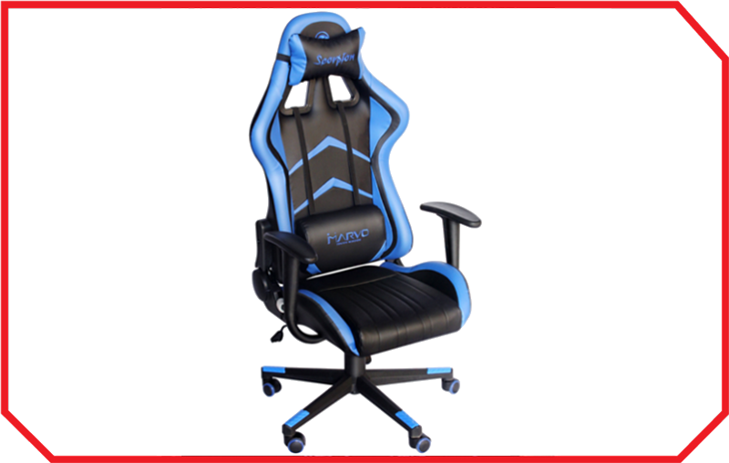Scaun Gaming CH-106 BLUE Marvo