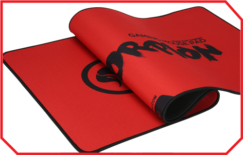 Mousepad Marvo G19 red