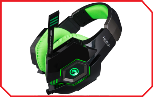 Casti Gaming HG8919 Green