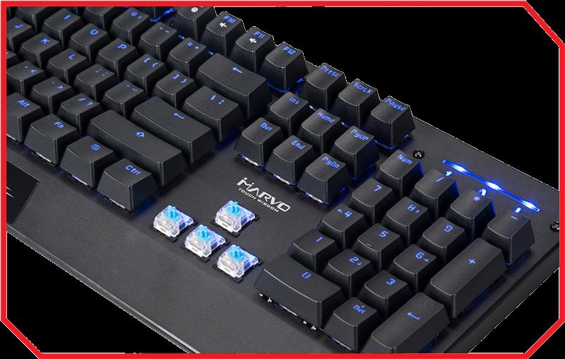Tastatura Gaming KG922 BLUE