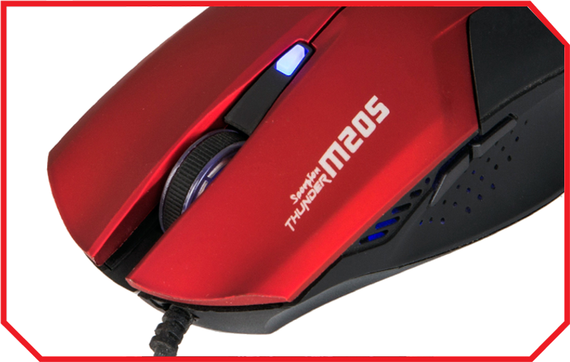 Mouse Gaming M205 RED