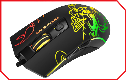 Mouse Gaming M209