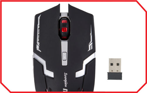 Mouse Gaming M718W