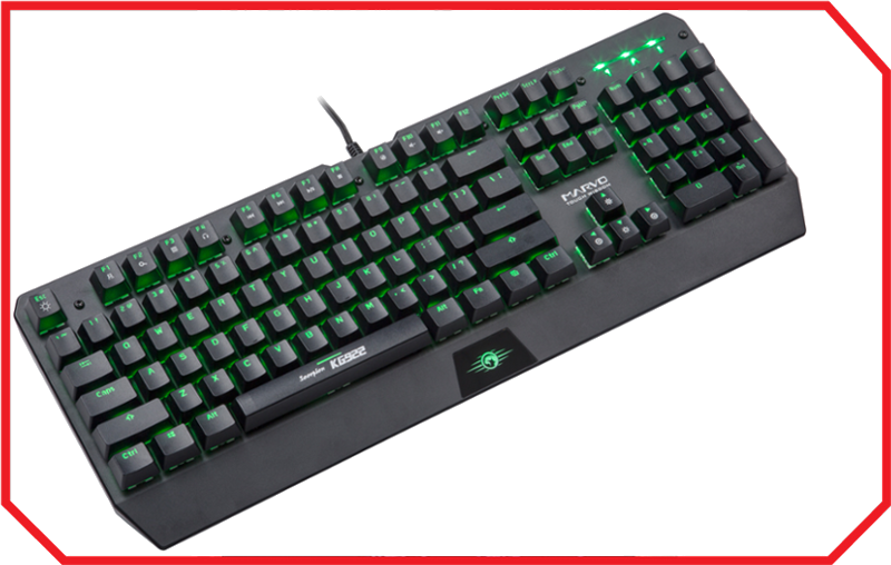 Tastatura Gaming KG922 GREEN