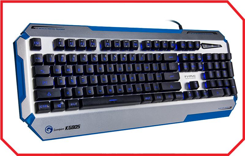 Tastatura Gaming KG805 BLACK
